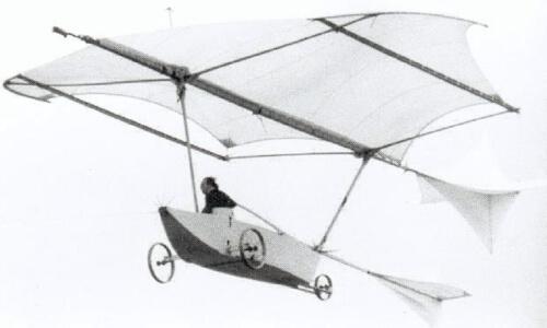 historia del avión planeador